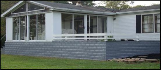 Steel Mobile Home Skirting Installation